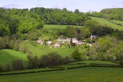 Scenic Cotswolds, Slad Valley Royalty Free Stock Image