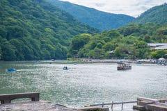 Scenic cruise in beautiful nature scenic view Stock Photos