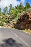 Scenic curvy road Royalty Free Stock Photo