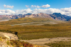 Scenic Denali National Park Landscape Stock Photography