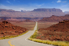 Scenic Desert Drive Royalty Free Stock Images