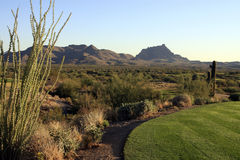 Scenic Desert Golf Course