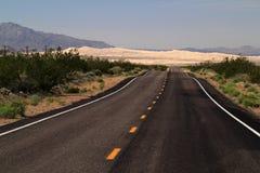 Scenic Desert Highway Stock Photography