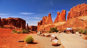 American Southwest, Scenic Landscape Background royalty free stock photos