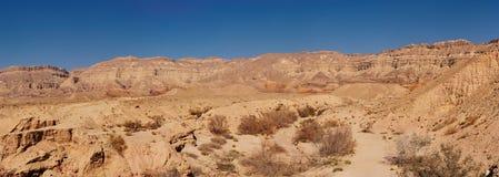 Scenic desert landscape at sunset Royalty Free Stock Images