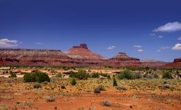 Scenic desert landscape in Utah Stock Images