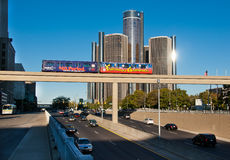 Scenic Detroit Stock Image