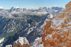 Scenic Dolomites Royalty Free Stock Photo