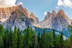 Scenic Dolomites Vista Stock Image