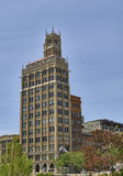 Scenic downtown Asheville, NC. Stock Photo