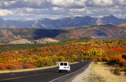 Scenic drive Stock Images