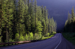 Scenic drive Royalty Free Stock Photos
