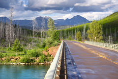 Scenic drive Royalty Free Stock Image
