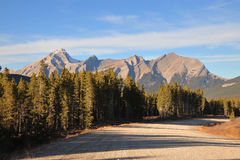 Scenic drive royalty free stock photography