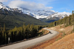 scenic drive Royalty Free Stock Images