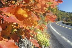 A scenic drive through the Berkshires in Western Massachusetts Royalty Free Stock Images