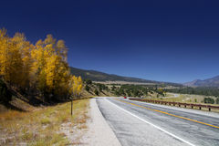 Scenic drive in Colorado Stock Photos