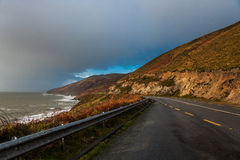 Scenic drive in Ireland Royalty Free Stock Photo