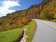 Free Scenic Drive On Blue Ridge Parkway Stock Photography - 18442172
