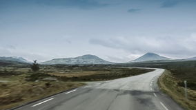 Scenic Drive, Rondane Nationalpark, Norway Stock Photography