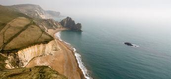 Scenic Durdle Door, Lulworth Cove Landscape Stock Photos