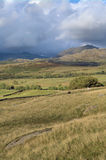 Scenic English hillside  Royalty Free Stock Photos