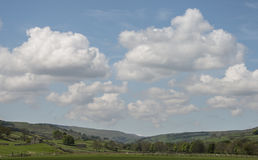 Scenic English landscape in the Yorkshire Dales Stock Photo