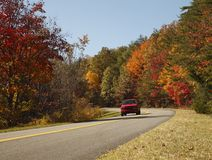Scenic Fall Drive Royalty Free Stock Image