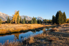 Scenic Fall Landscape Royalty Free Stock Photo