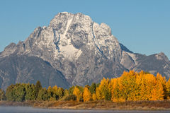Scenic Fall Landscape in the Tetons Stock Images