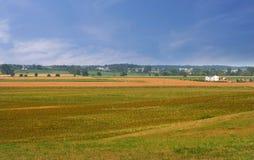 Scenic Farm Lands Stock Photo