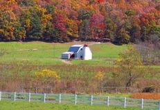 Scenic farm landscape Royalty Free Stock Image