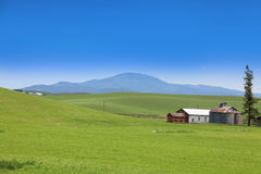 Scenic farm landscape Royalty Free Stock Photography