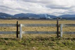 Scenic Fence stock photos