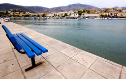 Scenic fishing village of Galaxidi, Greece Royalty Free Stock Photo