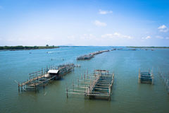 Scenic fishing village , Laem Sing , Chanthaburi, Thailand Stock Photography