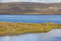 Scenic fjord landscape in west fjords region, Iceland. Scenic fjord landscape in west fjords region Iceland stock image