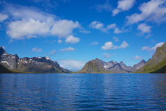 Scenic fjord in Norway Royalty Free Stock Photography