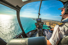 Twelve Apostles scenic flight Stock Image