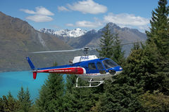 Scenic flights in New Zealand Royalty Free Stock Images
