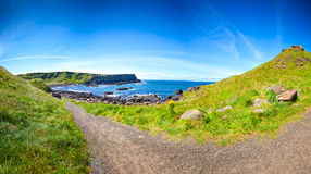 Scenic Footpath. Giant's Causeway. Stock Photography