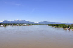 Scenic Fraser River Stock Photography