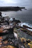 Scenic Galapagos Outlook. Great scene out over the water in the Galapagos Islands Royalty Free Stock Image