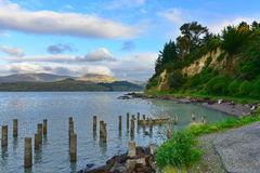 Scenic Governors Bay in Christchurch Royalty Free Stock Photography