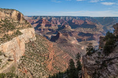 Scenic Grand Canyon South Rim Landscape Royalty Free Stock Photography