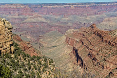 Scenic Grand Canyon South Rim Landscape Stock Photo