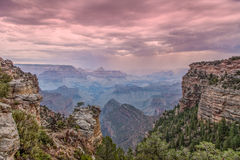 Scenic Grand Canyon Sunset Royalty Free Stock Images