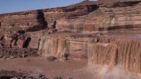 Scenic Grand Falls Arizona stock video