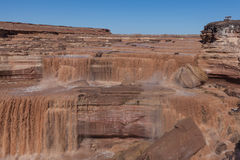 Scenic Grand Falls Arizona Stock Images