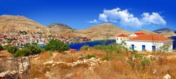 Scenic Greek islands Royalty Free Stock Image